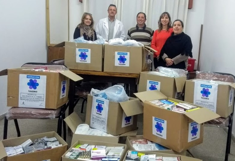 ROTARY: NUEVA ENTREGA DE MEDICAMENTOS AL HOSPITAL