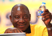 ANC presidential hopeful, Cyril Ramaphosa, on day two of the 54th national conference.