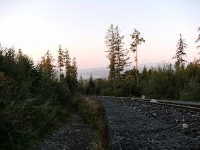 Photo: tory kolejki na Hrebeniok