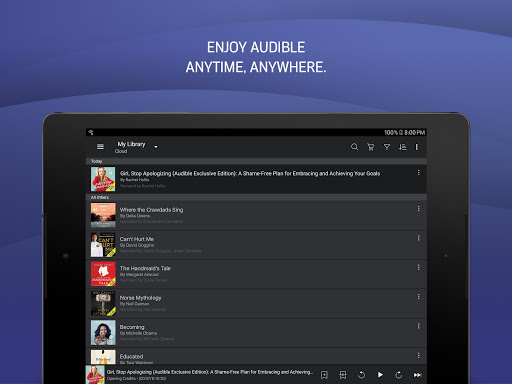Audible: audiobooks, podcasts & audio stories screenshot 8
