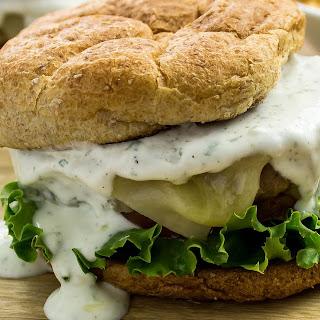 Ranch Turkey Burger.