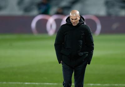 """Zidane : """"Nous sommes à la limite physiquement"""""""