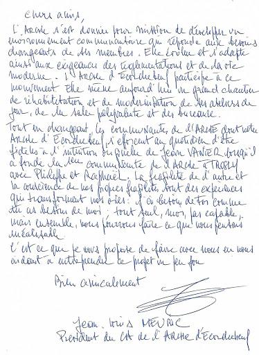 Le mot du président - Jean-Louis Meuric