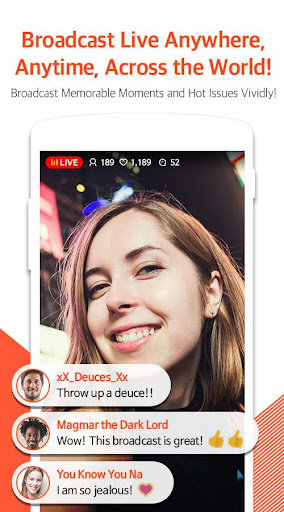 Mobizen Live Stream for YouTube - live streaming 1.2.11.3 Screenshots 1