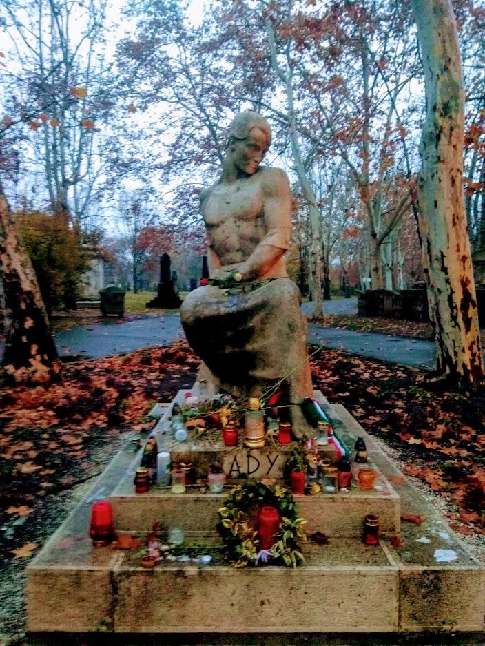 могила поета Эндре Ади