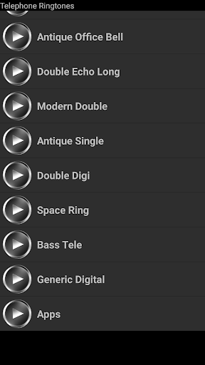 Telephone Ringtones Screenshot