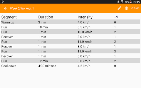 Treadmill Workouts (P) screenshot 9