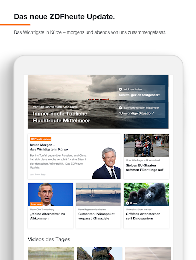 ZDFheute - Nachrichten 3.3 screenshots 13