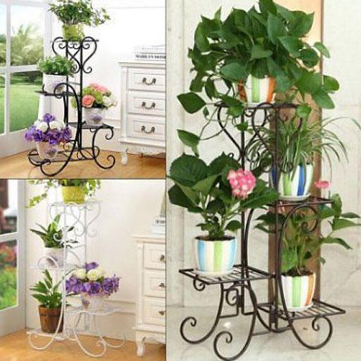 Iron Flower Pot Stand Android APK Download Free By Bajawidia