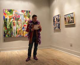 Photo: Philip Cairns @ Winter Snow Ball @ Urban Gallery Jan 2014
