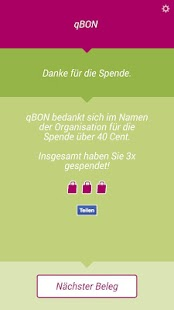qBON - Belegspende- screenshot thumbnail