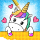 Unicorn Coloring Book Glitter for kids Download on Windows