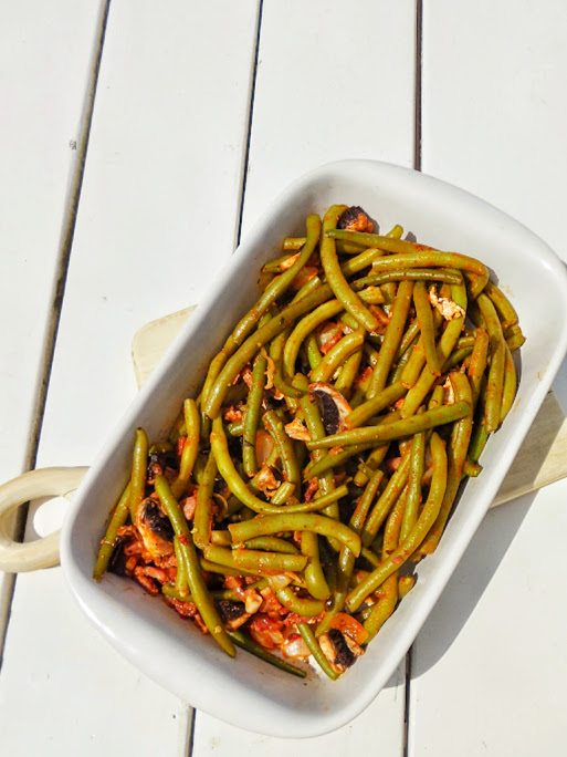 Easy green beans recipes by Welcome to Mommyhood #paleo, #vegan, #EasyGreenBeansRecipes