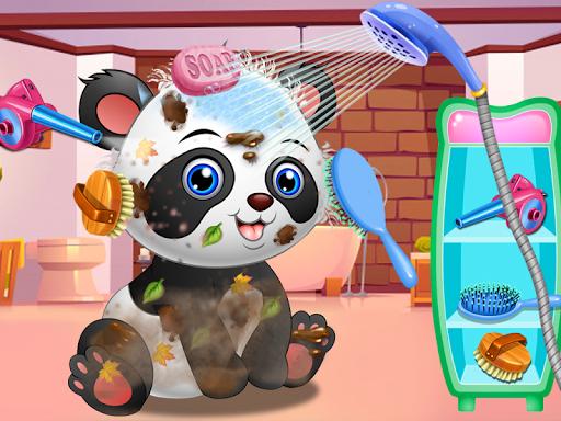 Pet Vet Care Wash Feed Animals - Animal Doctor Fun android2mod screenshots 2