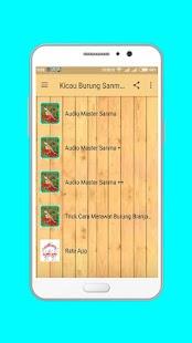 Kicau Burung Sanma Gacor - náhled