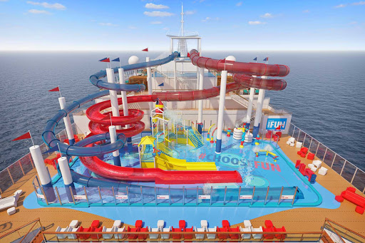 Release your inner child by zipping through the WaterWorks during your Carnival Panorama sailing.