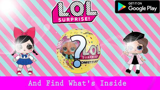 LOL Toy Dolls : Opening surprise eggs 1.0 screenshots 3