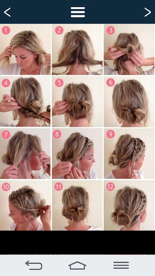 Simple hairstyles.- screenshot