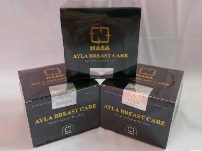 NASA Ayla Breast Care perawatan payudara original asli memperbesar payudara mengencangkan payudara