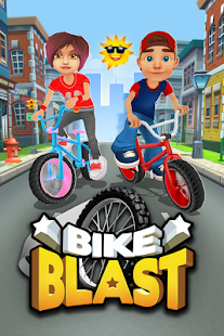 Bike Blast Racing Stunts game apk