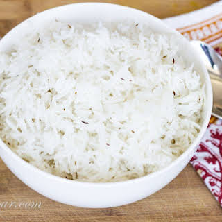 Perfect Steamed Basmati Rice.