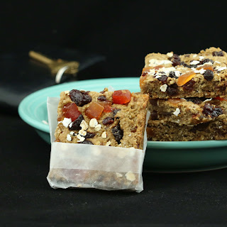 Morning Glory Protein Bars (Gluten-Free, Vegan/Plant-Based, No Sugar Added Recipe
