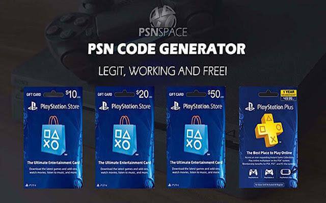 Free Psn Code Generator