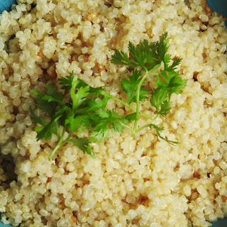 4 ingredients Quinoa Lemongrass Coconut Milk