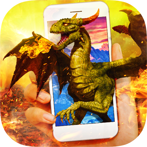 Dragon in Phone Prank Icon