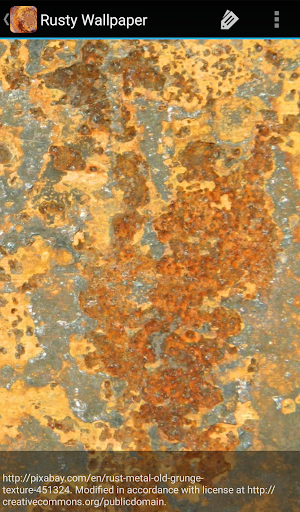 Rusty Wallpaper 1.0 screenshots 6