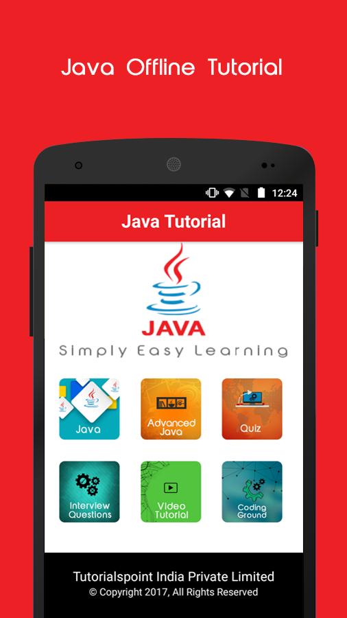 Java offline tutorial android apps on google play java offline tutorial screenshot ccuart Choice Image