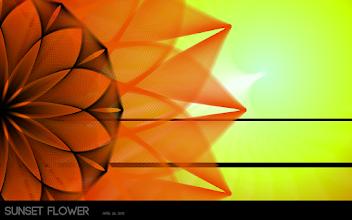 Photo: Sunset Flower