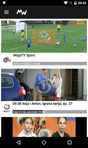 Moja webTV  screenshots 1