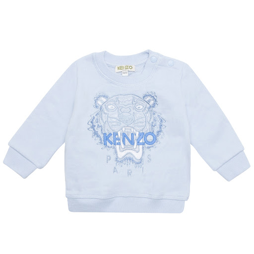 Primary image of Kenzo Kids Pale Blue Tiger Sweatshirt