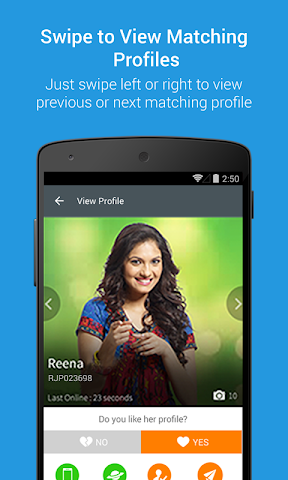 android RajputMatrimony Screenshot 4