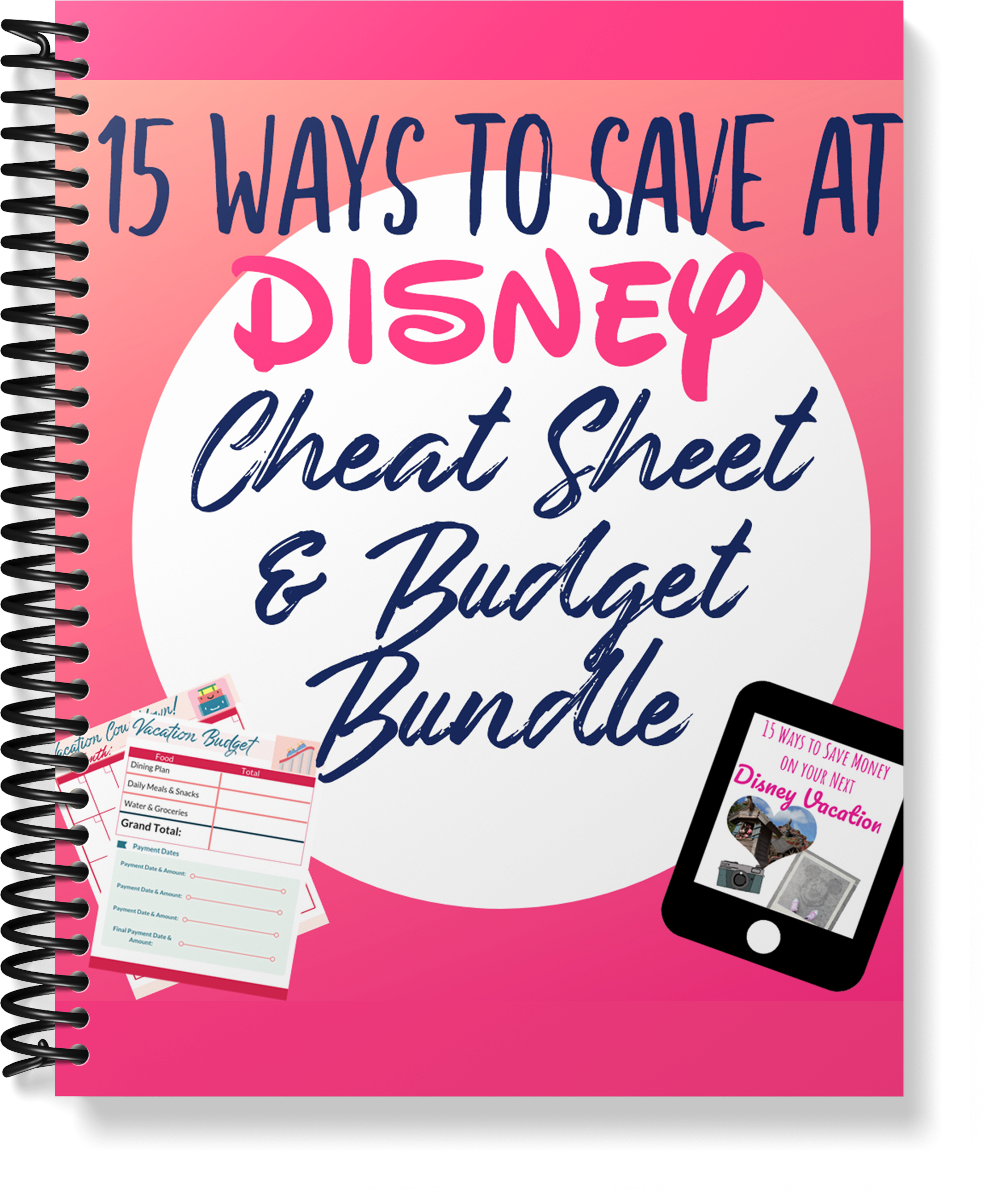 Free Disney Planning and Budget Bundle
