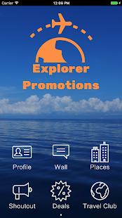 Explorer Promotions - náhled