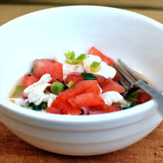 Grilled Watermelon & Scallop Ceviche.