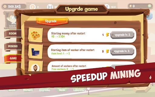 Mining Simulator - Idle Clicker Tycoon apktram screenshots 14