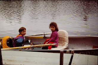 Photo: Ken & Tia waiting to go fishing
