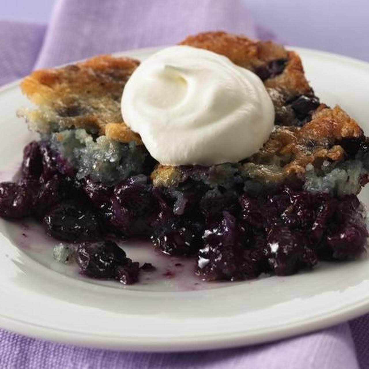 blueberry dessert recipes low calorie Country Blueberry Dessert