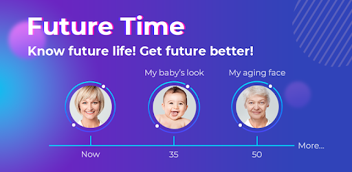 Future Time - Aging Face,Palm Reading,Face Scan - by FutureMe Apps