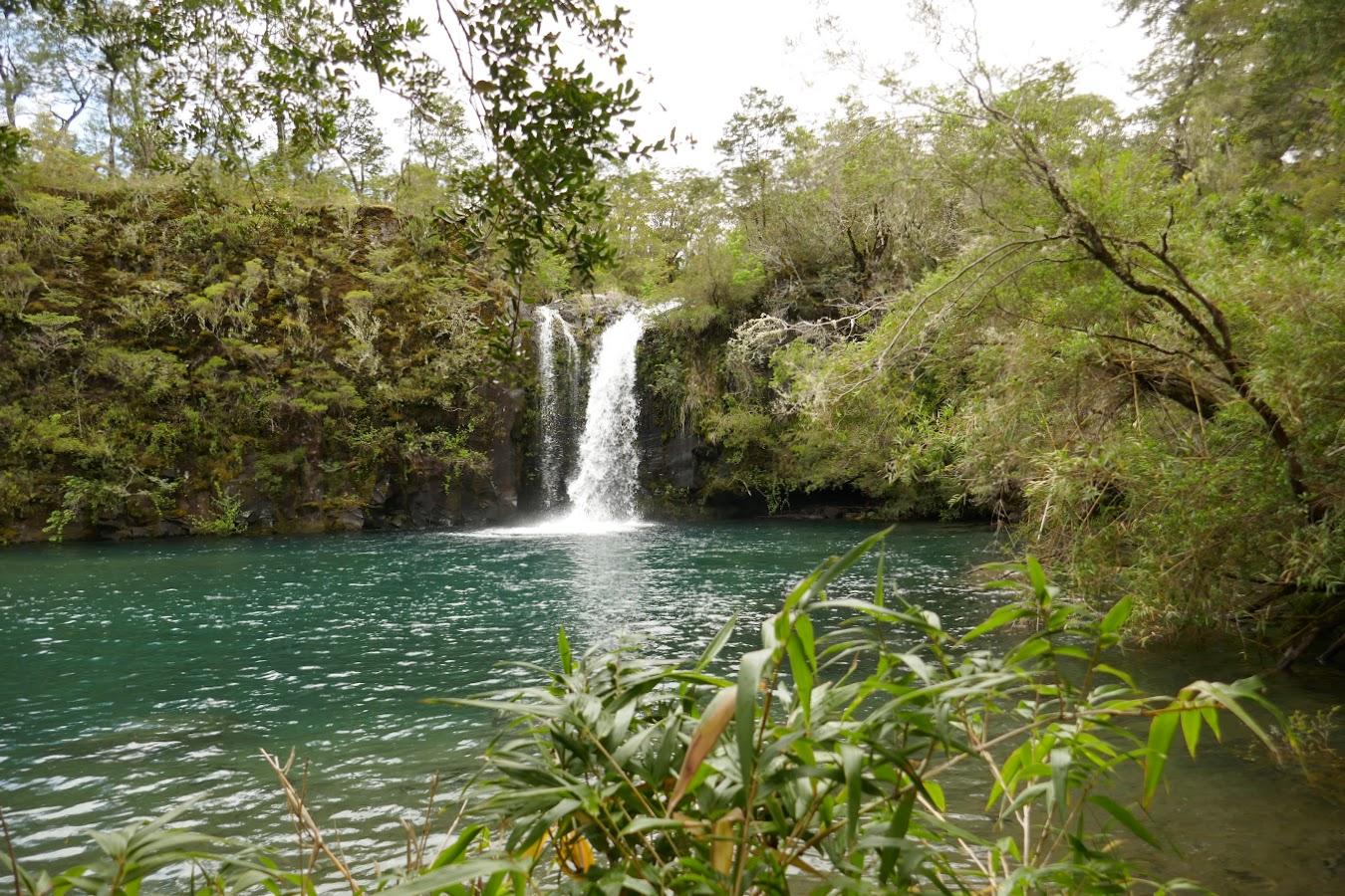 Small waterfall at Petrohue