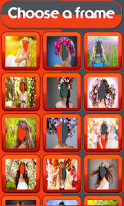 Woman Hair Flowers Editor screenshot 1