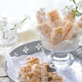 Chinese Peanut Brittle.