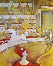 "Photo: George Seurat, ""Il circo"" (1890-1891)"