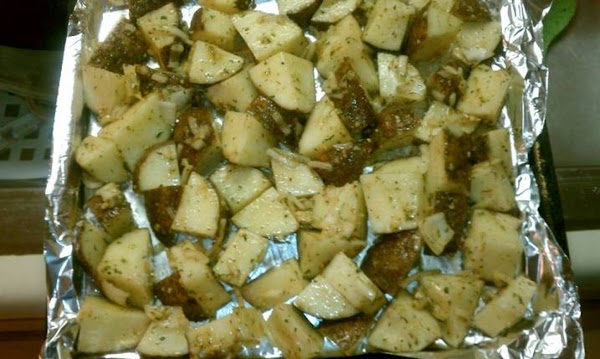 Herb And Garlic Potatoes Recipe