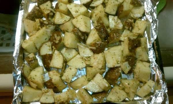 Herb And Garlic Potatoes