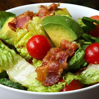 4. Bacon, Lettuce, Tomato, and Avocado Salad