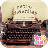 Retro  Wallpaper-Typewriter-